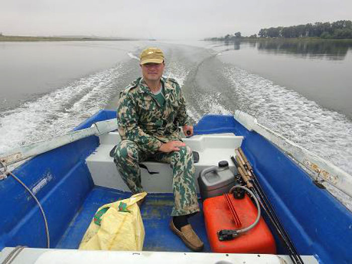 путина рыболовно охотничья база