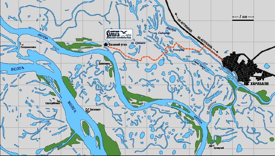 рыболовный клуб на карте