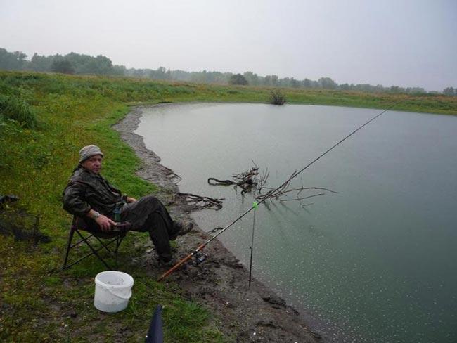 озеро ильмень рыболовная