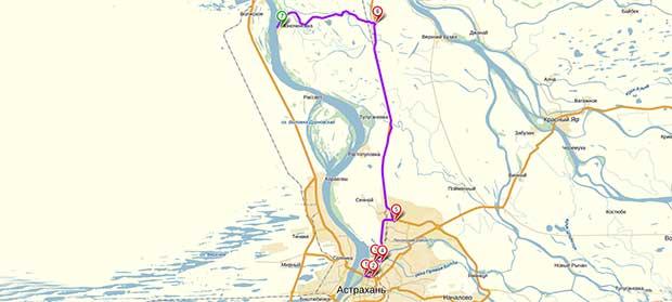 Карта-схема проезда до базы «