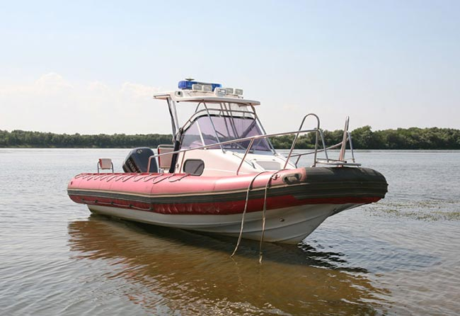 кальмар лодка