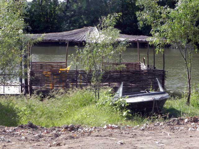 рыболовная база в верхнекалиновский