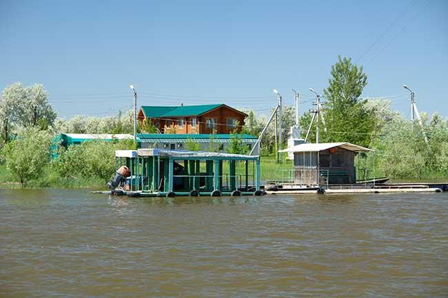 рыболовная база волга каспий 2001