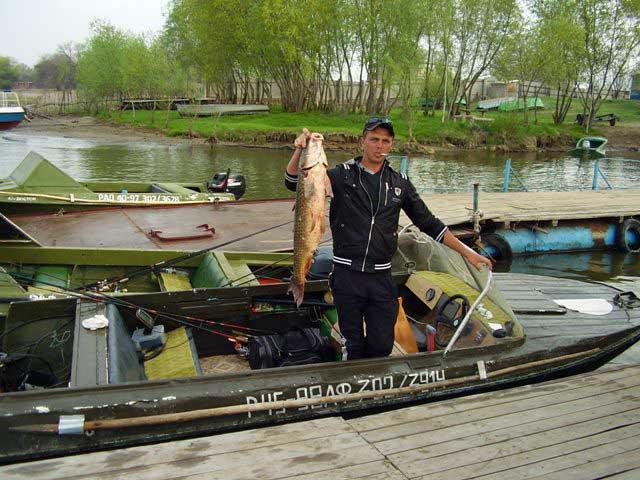 рыболовная база волжанка