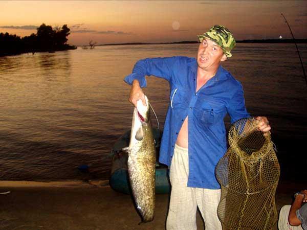 рыбалка в заповеднике