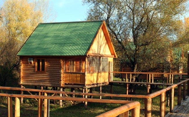 туристическая база отдыха и рыбалки