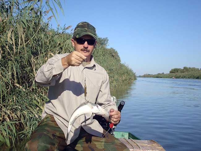 рыбалка в дельте волги август