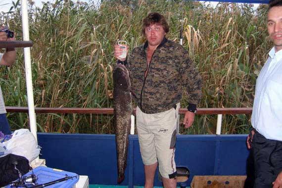 рыбалка в астрахани на пароходе
